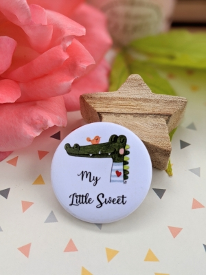 Badge My little sweet